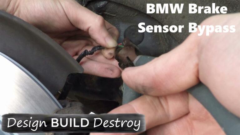 BMW Brake Sensor Bypass