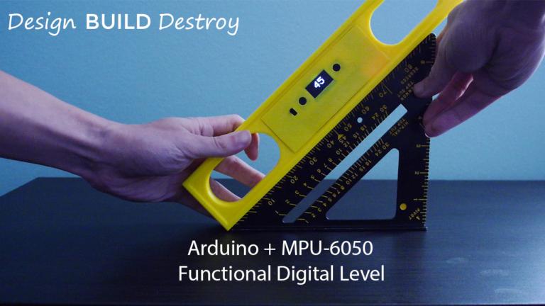 Digital Level Using Arduino Nano & MPU6050